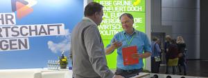 Andreas Tietze verhandelt Grüne Wirtschaftspolitik