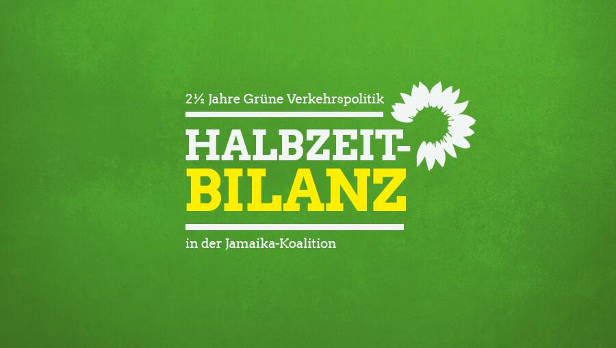 Zweieinhalb Jahre Grüne Verkehrspolitik in der Jamaika-Koalition: meine persönliche Halbzeitbilanz