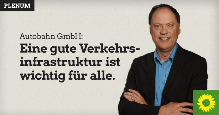 Andreas Tietze spricht zur Zusammenarbeit mit der Autobahn GmbH