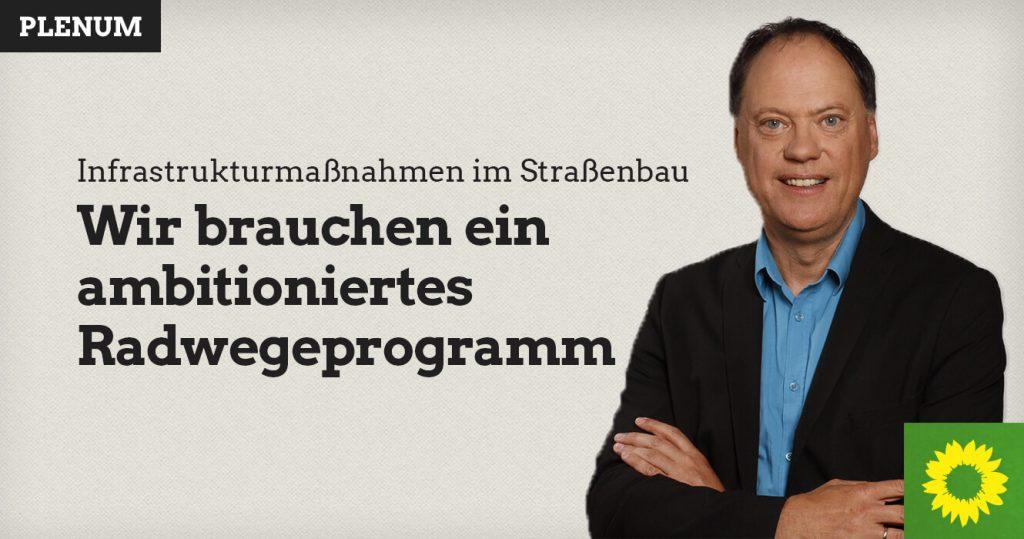 Andreas Tietze: Wir brauchen ein ambitioniertes Radwegeprogramm