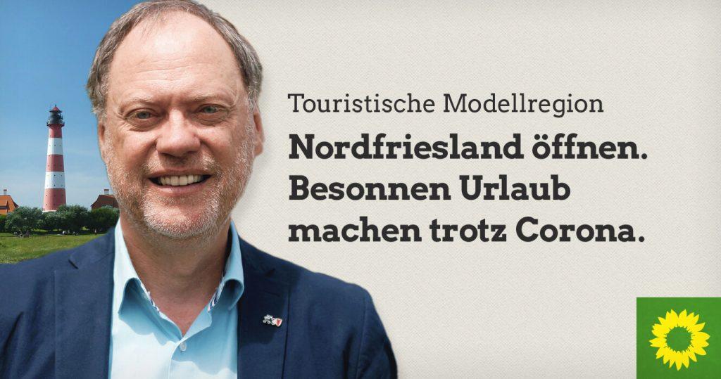 Nordfriesland für den Tourismus öffnen