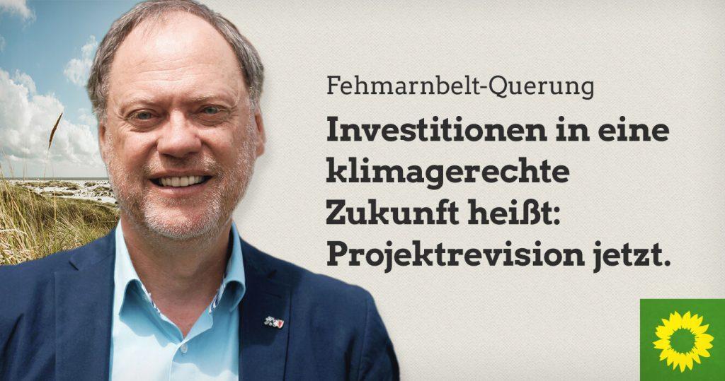 Fehmarnbelt-Querung: Investitionen in eine klimagerechte Zukunft heißt: Projektrevision jetzt.
